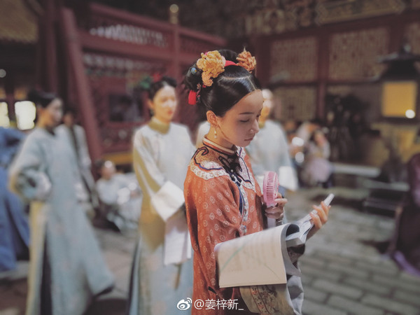 ▲姜梓新演《延禧攻略》明玉大獲好評。(圖/翻攝自微博)