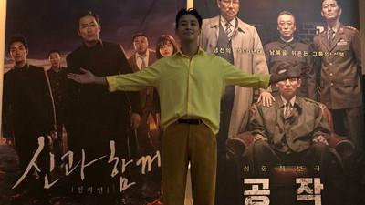 朱智勛宣傳新作《北風》口誤「我是與神同…」 腦袋打結瞬間惹笑影迷