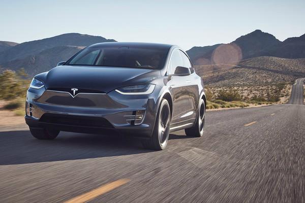 ▲Tesla Model X。(圖/翻攝Tesla)