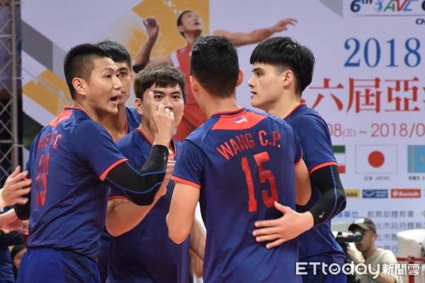 ▲▼亞洲盃男排,中華男排,中華男排vs伊朗 。(圖/記者謝孟儒攝)