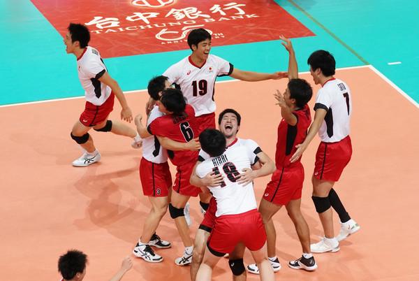 ▲▼  亞洲盃男排,中華vs日本,日本隊。(圖/中華排協提供)