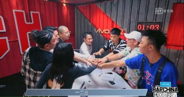 ▲《中國新說唱》吳亦凡想退賽。(圖/愛奇藝)