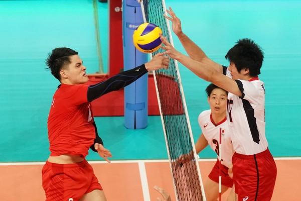 ▲▼ 亞洲盃男排,中華男排,中華男排vs日本 。(圖/中華排協提供)