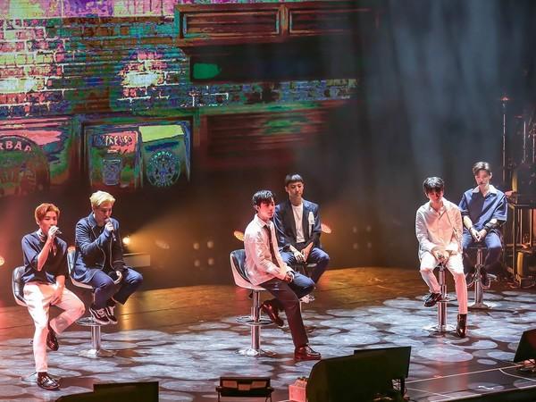 ▲B.A.P最後合體演唱會。(圖/翻攝自Facebook/OFFICIALB.A.P)