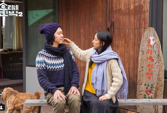 ▲▼給安君姐/老公把她捧在手心寵! 李孝利:下輩子我也要嫁給他。(圖/翻攝自JTBC)