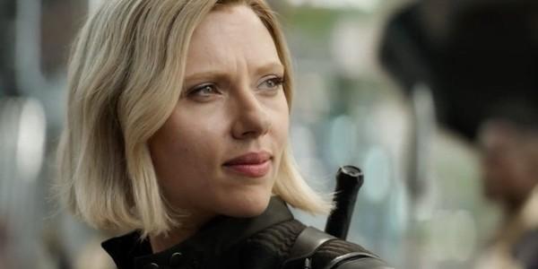 「黑寡婦」史嘉蕾喬韓森(Scarlett Johansson)。(圖/《復仇者聯盟3:無限之戰》劇照)