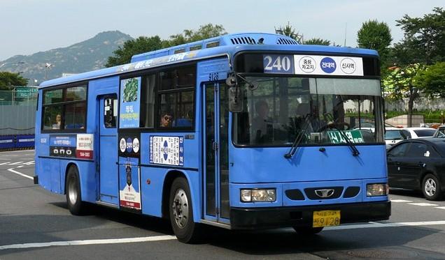 ▲▼南韓的公車(圖/翻攝自Naver Blog)