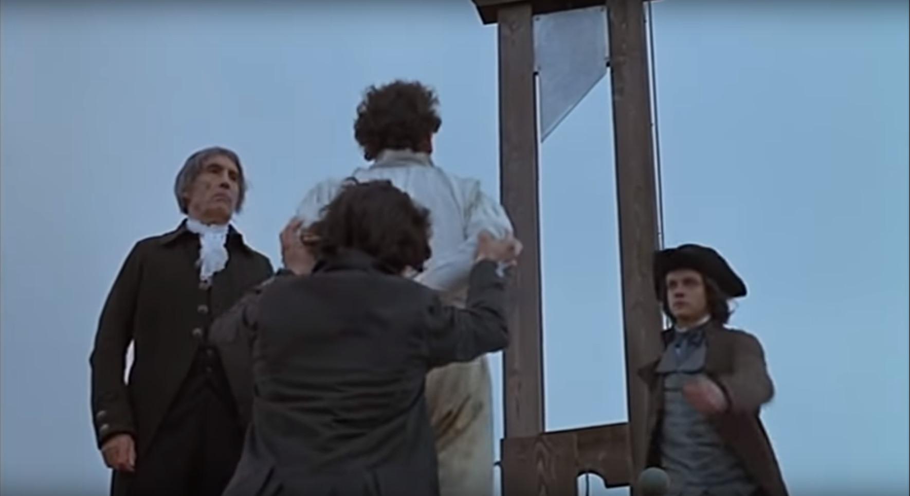▲▼死刑,斷頭台(圖/《法國大革命》劇照)