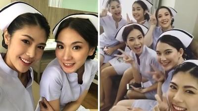 整間醫院「護理師全正妹」! 病房工作照PO網引暴動,網搶著掛號