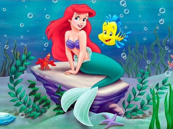 《小美人魚》傳出女主角是辛蒂亞(Zendaya)。(圖/《小美人魚》劇照)