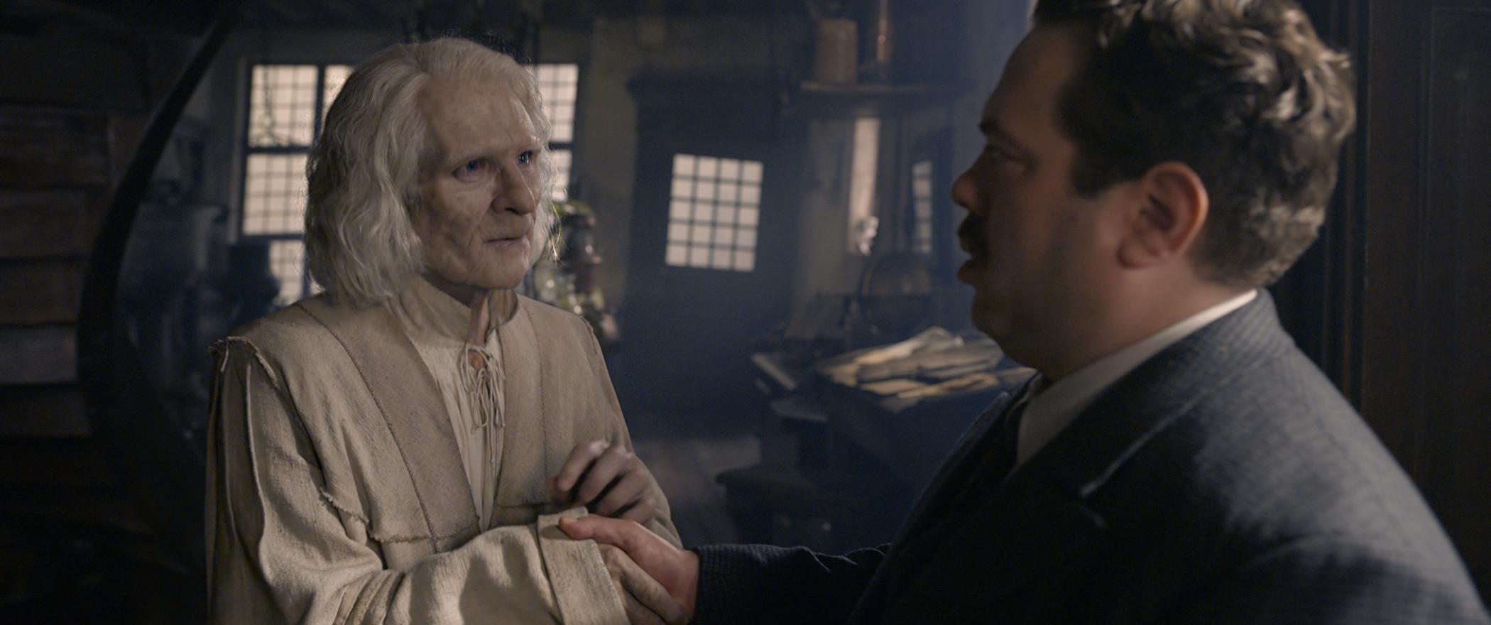 《怪獸與葛林戴華德的罪行》。(圖/《怪獸與葛林戴華德的罪行》劇照)