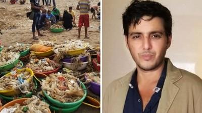 「對不起我盡力了」律師600天清空全球最髒海灘,大浪打回千噸垃圾