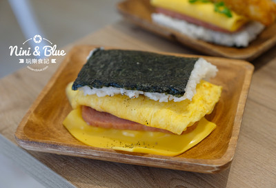 台中沖繩飯糰 有哈姆蛋+雙重起司