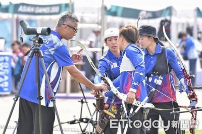 世界盃射箭賽 中華女團摘金