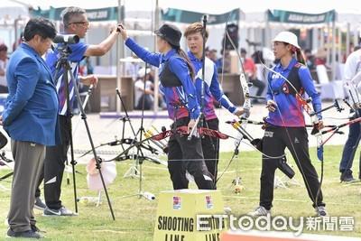 世界盃射箭賽 中華女團爭金