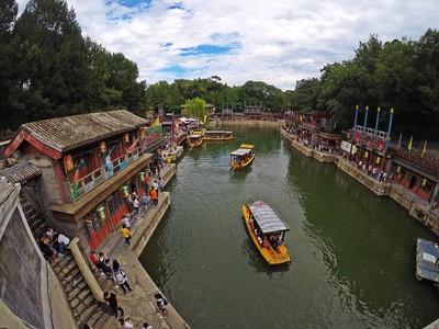 宮廷劇迷必訪北京頤和園、遊昆明湖