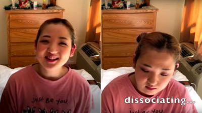 19歲少女錄影介紹「6個分裂人格」...講到一半突然人格轉換!