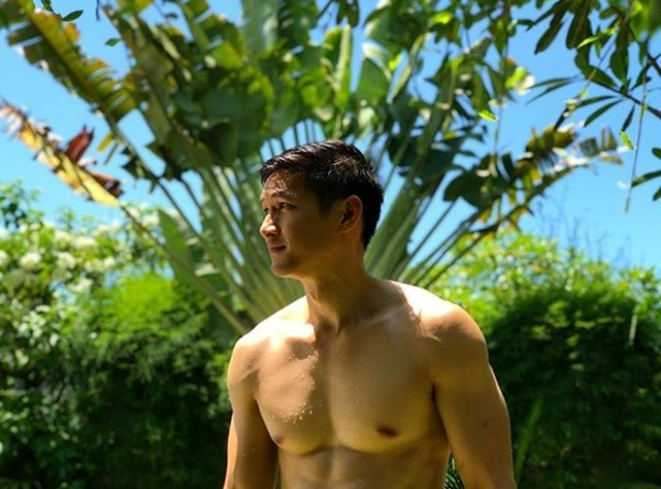 岑勇康(Harry Shum Jr.)。(圖/翻攝自Harry Shum Jr. IG)