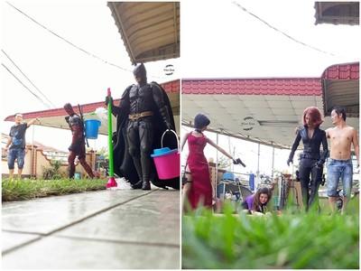 超級英雄最大尾! 他把蝙蝠俠當拖地小弟、爽納黑寡婦做小三