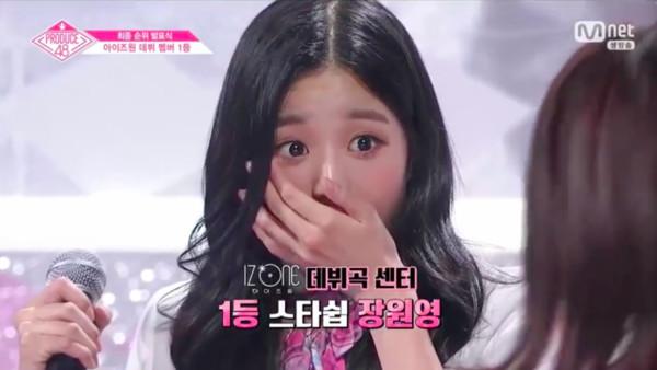 ▲▼《Produce 48》冠軍候補——張元英、宮脇咲良。(圖/翻攝自Mnet)