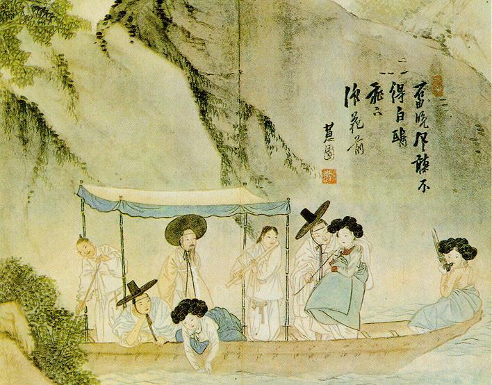 ▲▼朝鮮官妓,妓生(圖/翻攝自維基百科)