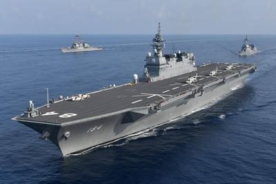 中日戰艦南海上相遇! 無線電一開口:早安,很高興見到你
