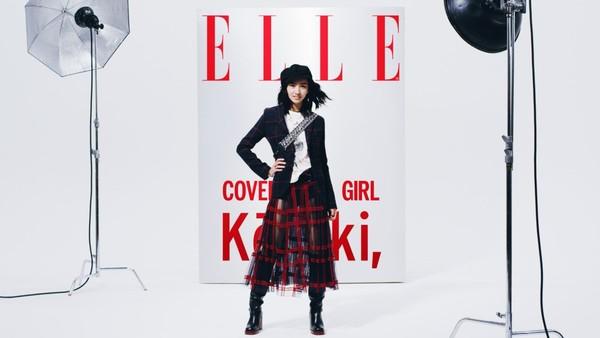 ▲▼木村光希在日本穿搭走少女風格。(圖/翻攝自推特/ELLE)