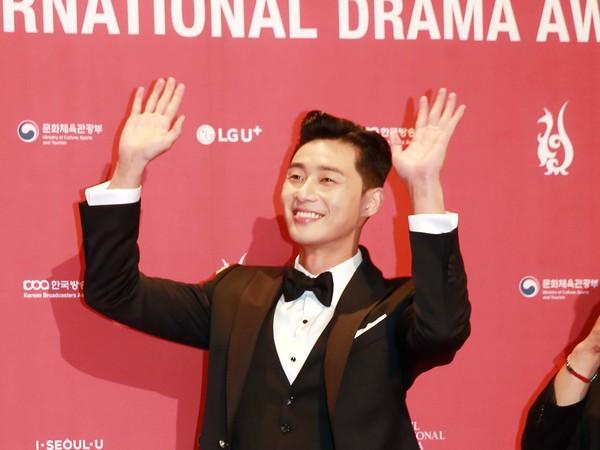▲朴敘俊《首爾國際電視節獎》紅毯。(圖/seoul international drama awards提供)