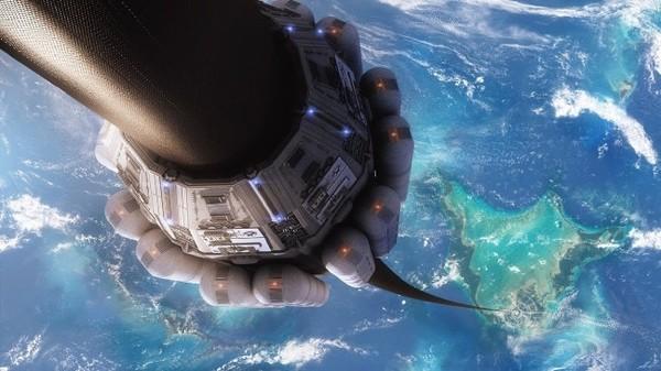 ▲日本研發「太空電梯」,下周首度測試「搭電梯上太空」的可行性。(圖/翻攝自靜岡大學官網)