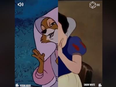 迪士尼也曾「複製貼上」!羅賓漢/白雪公主一模一樣...有發現嗎