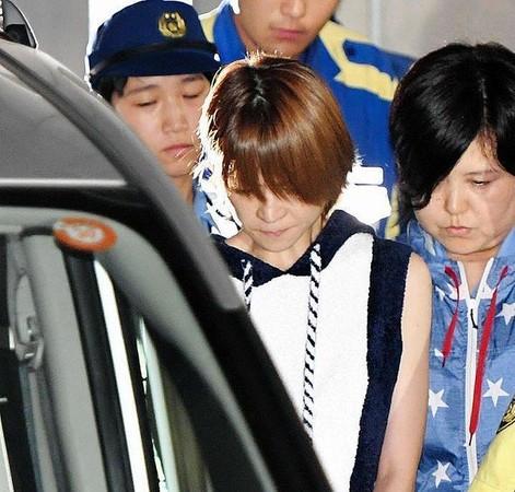 ▲▼吉澤瞳被收押轉送地檢署。(圖/翻攝自日網《DailySports》)