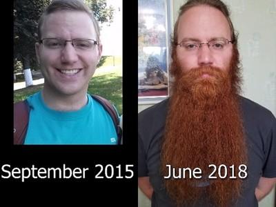 旅行33國變張飛!背包男沿途拍美景 「鬍子生長」吸引千萬點閱