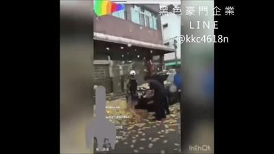 影/怨沒照顧 鎮瀾宮副董門前灑冥紙