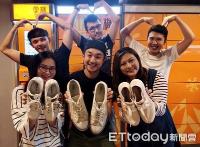 掌櫃發起捐鞋送非洲童 首波募得6萬筆捐贈