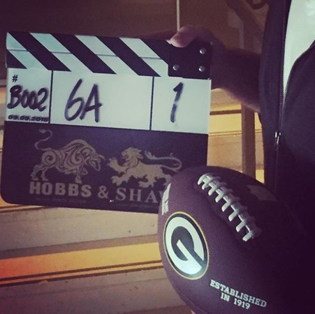 《Hobbs and Shaw》開拍。(圖/翻攝自David Leitch IG)