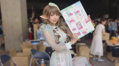2天狂賺千萬!日本第一Coser「えなこ」出寫真 500宅宅擠攤位爆買