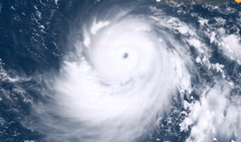 ▲▼山竹颱風。(圖/中央氣象局)