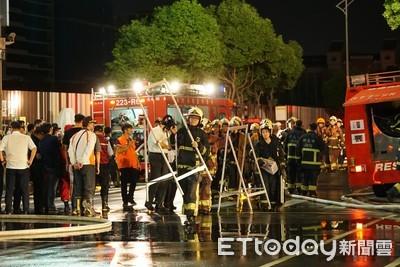 蔡英文:消防員安全是最重要考量