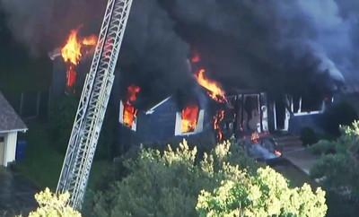 麻州瓦斯外洩引爆炸 燒39棟房4傷