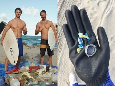衝浪猛男撿垃圾「倒賺10億」!心疼海灘髒,把萬噸空瓶製成少女飾品