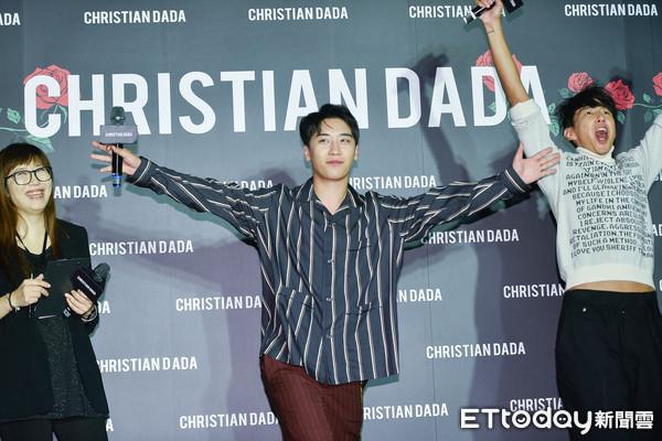 ▲▼ )勝利出席Christian Dada 台北旗艦店開幕(圖/記者張一中攝)
