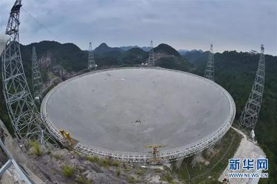 「中國天眼」明年開始尋找外星人