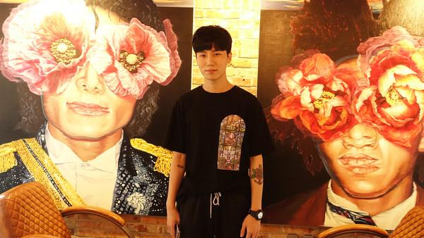 ▲傑米鹿訪問南韓地下嘻哈歌手RHEEHAB。(圖/傑米鹿提供)