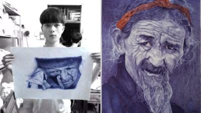 上課都在畫畫..高中生被罵「對不起父母」 專家讚:大師級作品!