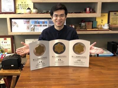 中正茶博士研發低咖啡因紅茶得金獎