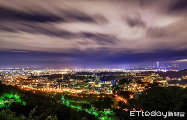 ▲貓空夜景。(圖/台北市政府提供)