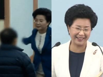 狂搧七旬翁700下耳光! 南韓女牧師打完笑撥瀏海:幫你除罪