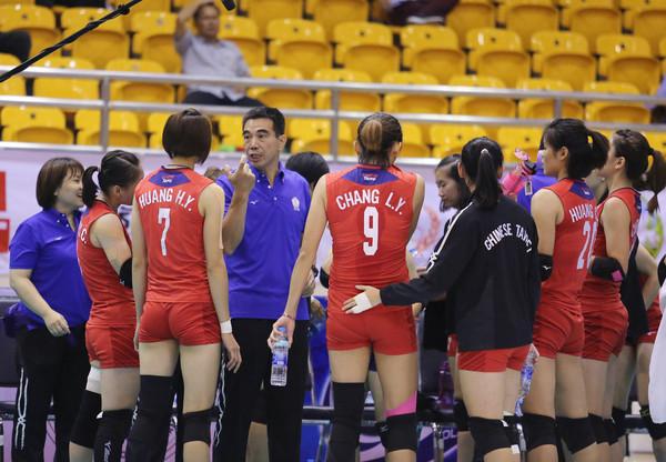 ▲亞洲盃女排,中華vs南韓。(圖/翻攝自AVC)