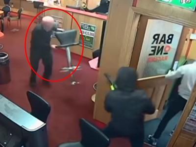 85歲老阿公「一對三」打跑持槍歹徒! 事後謙稱:偶爾有健身啦