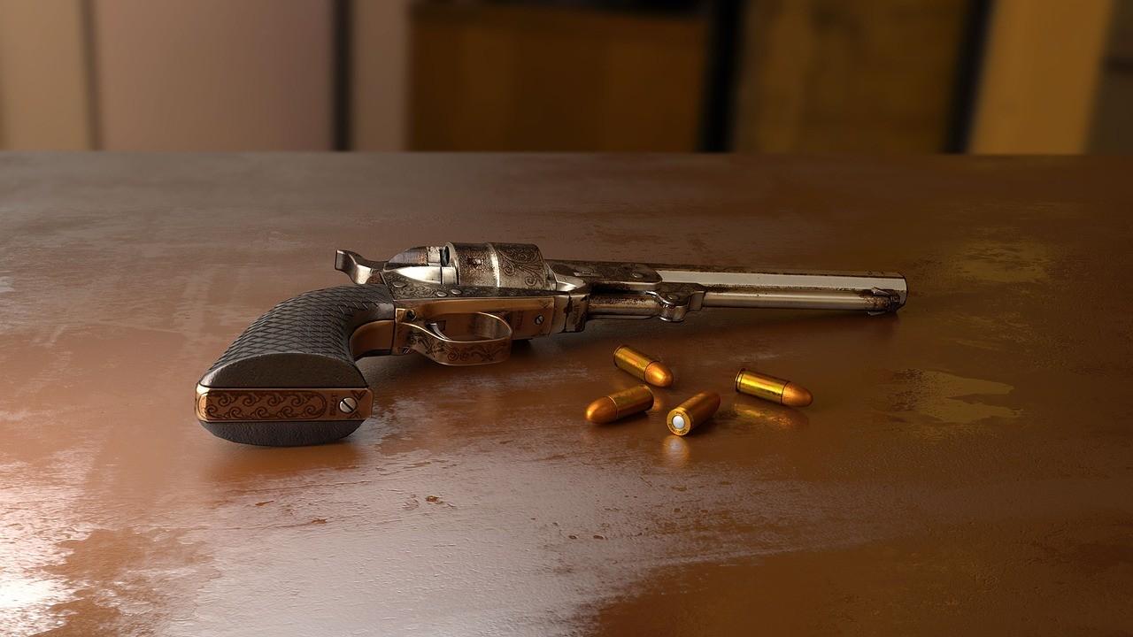 ▲▼手槍,槍,槍殺,槍擊,自殺,武器。(圖/取自Pixabay)